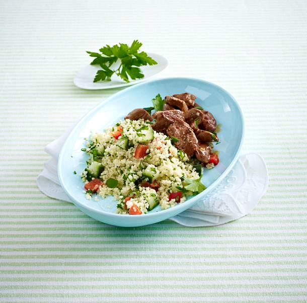 Couscous-Petersilien-Salat Rezept