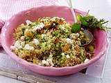 Couscous-Salat mit Kräuter-Aprikosen Rezept