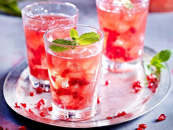 Cranberry-Sour mit Granatapfel