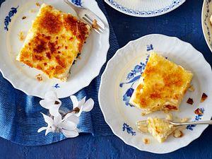 Crème-brûlée-Schnitten Rezept