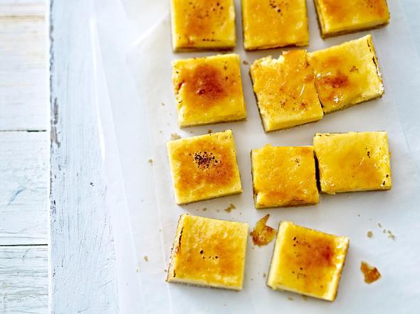 Crème-brûlée Squares Rezept