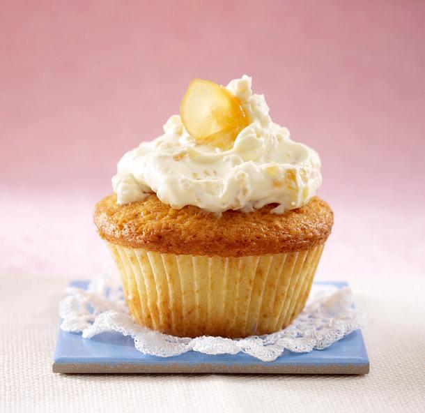 Cupcakes: Ingwer-Frischkäsecreme Rezept