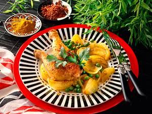 Curry-Gemüsezwiebeln Rezept
