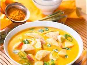 Curry-Kokossuppe Rezept