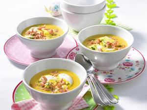 Curry-Rahm-Suppe Rezept