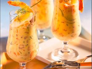 Curry-Shrimps-Cocktail Rezept