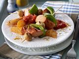 Currywurst-Gemüsespieß Rezept