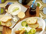 Currywurst mit Tzatziki-Soße Rezept