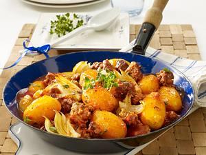 Deftige Kartoffel-Hack-Pfanne Rezept