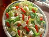 Deftiger Salatteller Rezept