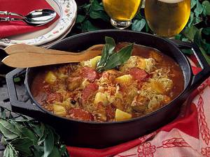 Deftiger Sauerkrauttopf Rezept