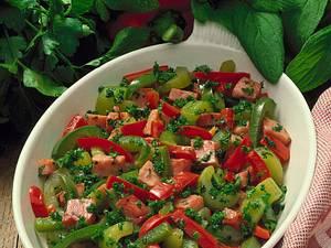 Deftiges Gemüse mit Borretsch und Petersilie Rezept