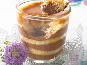 Dobosz-Schichtspeise mit Pudding Rezept