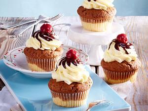 Donauwellen-Cupcakes Rezept