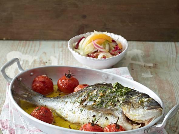 Dorade mit Amalfitana-Salat Rezept