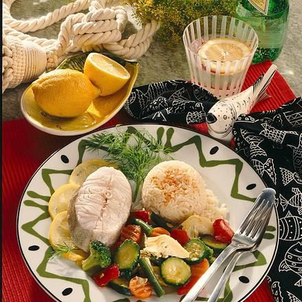 Dorsch-Kotelett mit italienischem Pfannengemüse Rezept