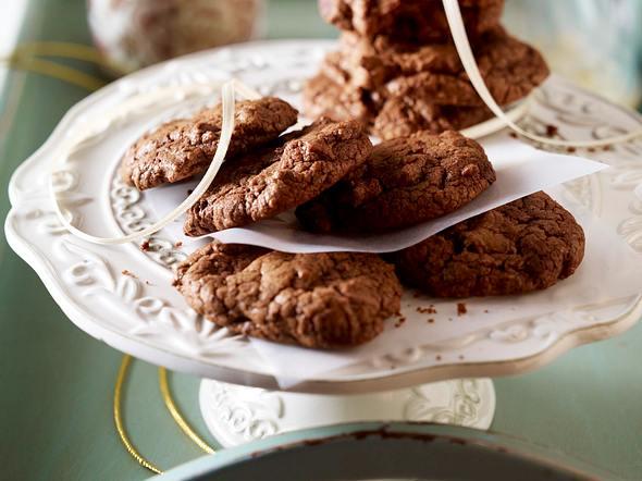 Double Choc Cookies Rezept