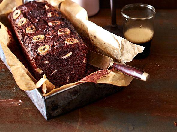 Double-Chocolate-Bread mit Bananen Rezept