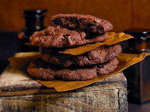 Double Chocolate Cookies Rezept
