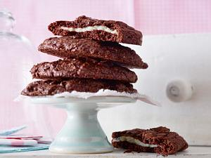 Double Chocolate Cookies Surprise Rezept