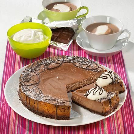 Dunkler Phiadelphia-Kuchen Rezept