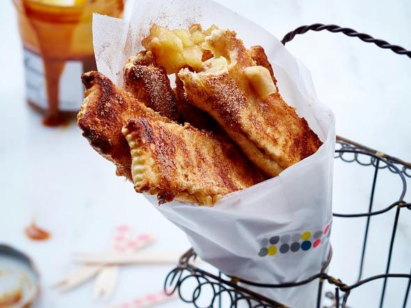 Easy-peasy-Birnen-Pie-Sticks Rezept