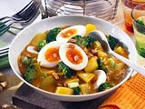 Eier-Curry-Ragout Rezept