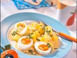 Eier mit Senf-Kressesoße Rezept