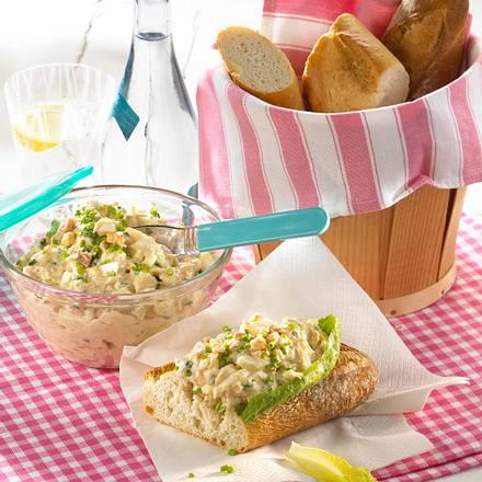 Eiercreme mit Thunfisch Rezept