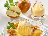 Eierlikör-Flan zu Karamell-Äpfeln Rezept