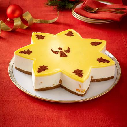 Eierlikör-Mandarinen-Stern-Torte Rezept