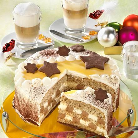 Eierlikör-Nougat-Torte Rezept