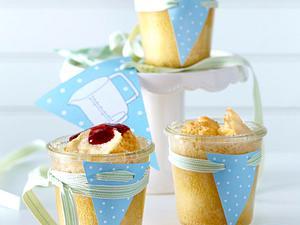 Eierlikörkuchen im Glas Rezept