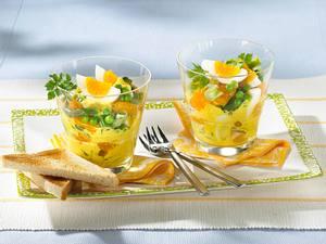Eiersalat mit Curry-Mayonnaise Rezept