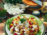 Eiersalat mit Paprika und Staudensellerie Rezept