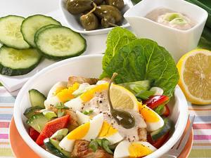 Eiersalat mit Thunfischsoße Rezept