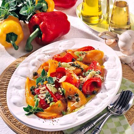 Eingelegte Paprika mit Kapern Rezept
