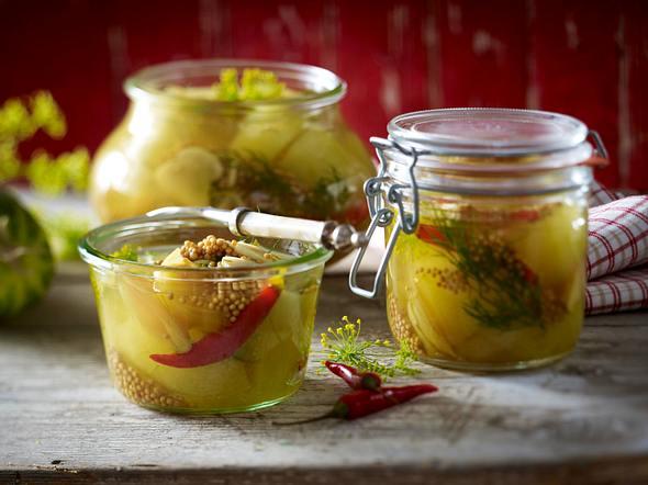 Eingemachte Schmorgurken Rezept