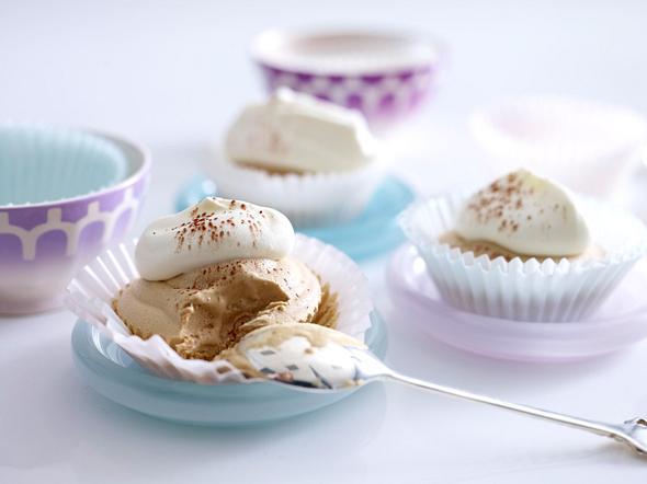 Eiskaffee-Törtchen Rezept