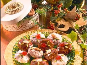 Elisenlebkuchen mit Feigen Rezept