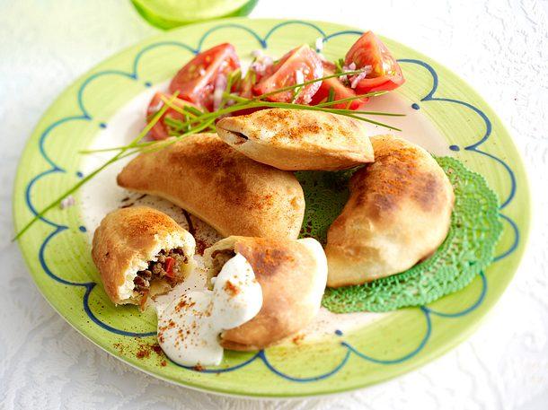 Empanadas mit Hack & Rosinen Rezept