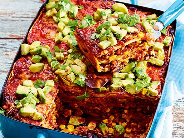 Enchilada-Lasagne Rezept