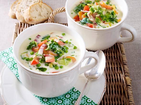 Endivien-Käse-Suppe Rezept