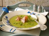 Erbsen-Kartoffel-Suppe mit Kasseler Rezept
