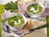 Erbsen-Zuckerschoten-Cremesuppe Rezept
