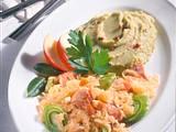 Erbsenpüree mit Sauerkraut-Gulasch Rezept