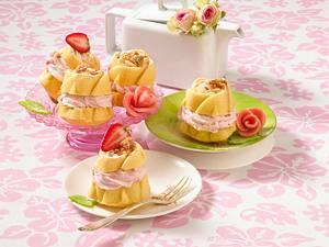 Erdbeer-Amaretti-Muffins Rezept