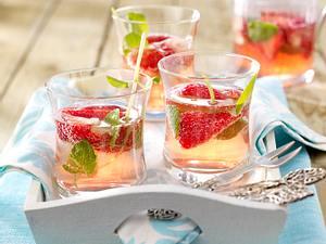 Erdbeer-Campari-Bowle Rezept
