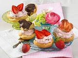 Erdbeer-Campari-Windbeutel Rezept
