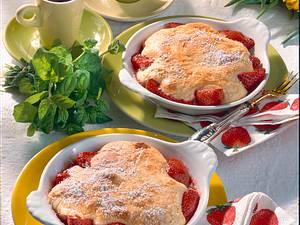 Erdbeer-Clafoutis Rezept